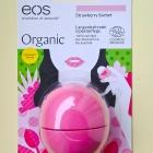 Organic Lip Balm - Strawberry Sorbet von eos