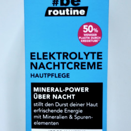 Elektrolyte Nachtcreme - #be routine