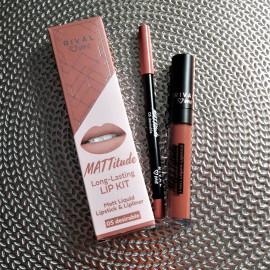 MATTitude Long-Lasting Lip Kit von Rival loves me