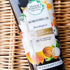 Real Botanicals - Feuchtigkeit Kokosmilch Spülung von Herbal Essences
