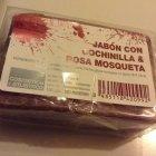 Jabón Con Cochinilla & Rosa Mosqueta von Cosmética del Atlántico