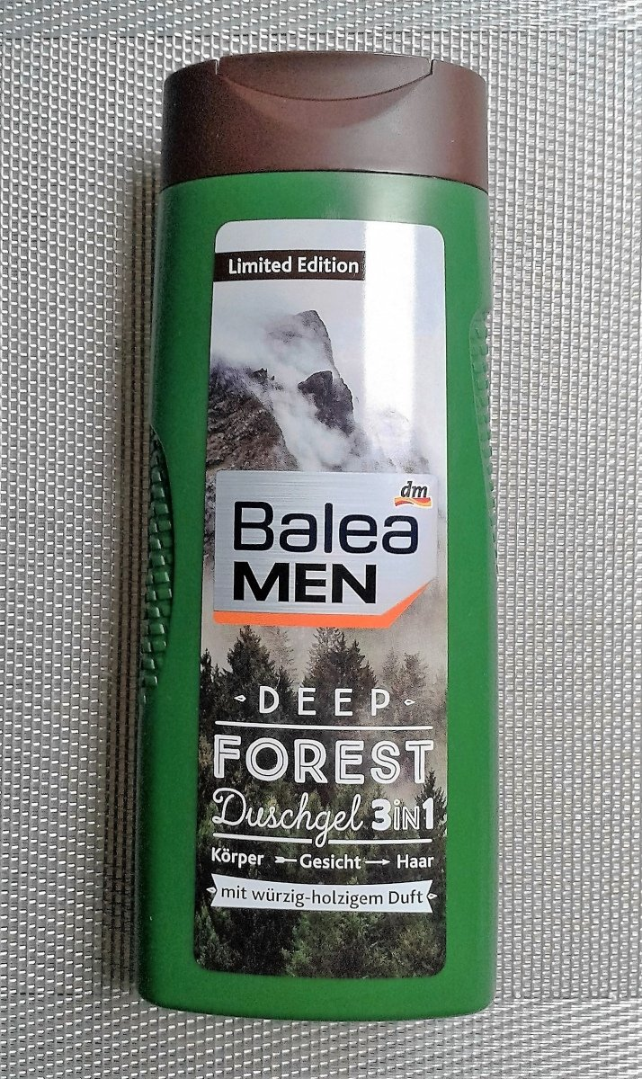 balea men deep forest duschgel 3in1 limited edition. Black Bedroom Furniture Sets. Home Design Ideas