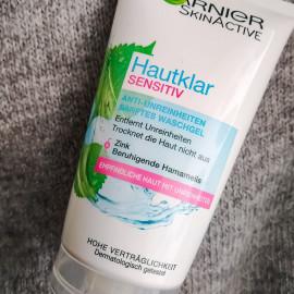SkinActive - Hautklar Sensitiv - Anti-Unreinheiten Sanftes Waschgel - Garnier