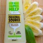 Grüne Banane und Bambusmilch Shower Milk von Original Source