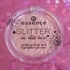 Glitter in the air - strobing blush and highlighter powder von essence