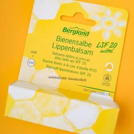 Bienensalbe Lippenbalsam LSF 20 von Bergland