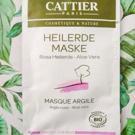 Heilerde Maske Rosa Heilerde Aloe Vera von Cattier