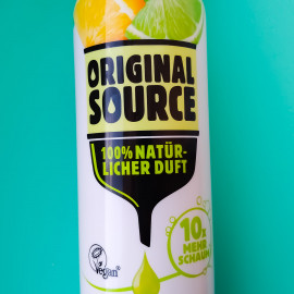 Foaming Shower Gel Zitrone & Limette von Original Source