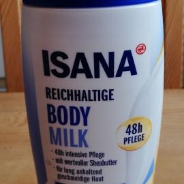 Reichhaltige Bodymilk von Isana