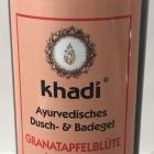 Ayurvedisches Dusch- & Badegel Granatapfelblüte & Orange von Khadi