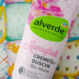 Mamaglück - Cremeöl-Dusche Bio-Malve von alverde