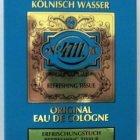Echt Kölnisch Wasser Original Eau de Cologne - Erfrischungstuch von 4711