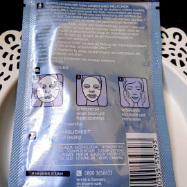 Beauty Effect - Tuchmaske von Balea