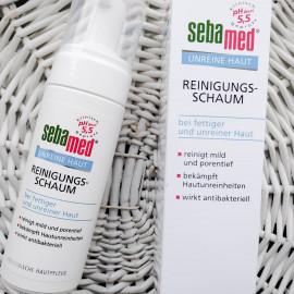 Unreine Haut - Reinigungsschaum von Sebamed