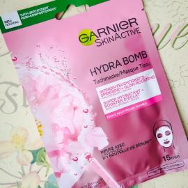 SkinActive - Hydra Bomb - Tuchmaske - Fahle Haut - Garnier