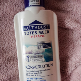 Totes Meer Therapie - Original Totes Meer Körperlotion - Salthouse