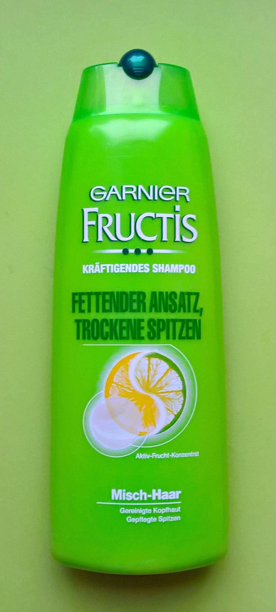 Garnier Fructis Fettender Ansatz Trockene Spitzen