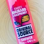 Sweet Rhubarb & Raspberry Shower von Original Source
