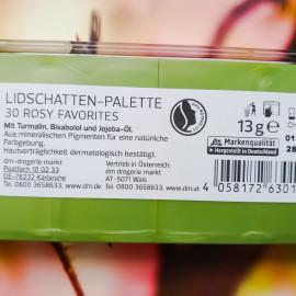 Lidschatten-Palette 30 Rosy Favorites von alverde