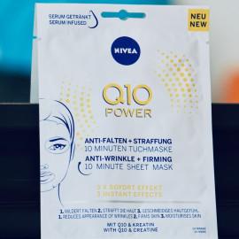 Q 10 Power Anti-Falten + Straffung 10 Minuten Tuchmaske von Nivea