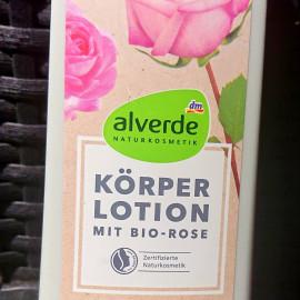 Körperlotion mit Bio-Rose von alverde