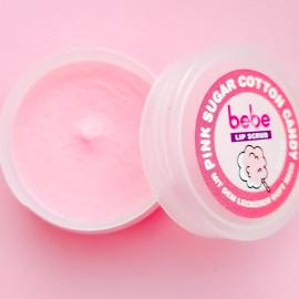 Lip Scrub Pink Sugar Cotton Candy - Bebe