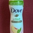 go fresh - Pfirsich- und Zitronenverbenenduft Deodorant von Dove