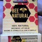 Pomegranate Lip Balm von Bee Natural