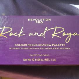 Colour Focus Shadow Palette - Rock and Royal von Revolution Pro