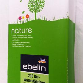 nature - Bio-Wattestäbchen von ebelin