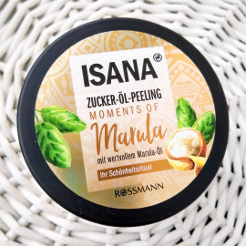 Moments of Marula - Zucker-Öl-Peeling - Isana
