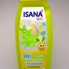 Isana Kids - 3in1 Shampoo, Dusche & Pflegespülung - Zitrone von Isana
