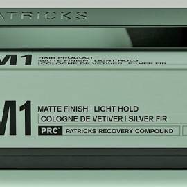 M1 Matte Finish Light Hold Thickening Paste von Patricks