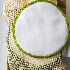 12 wiederverwendbare Reinigungspads + Wäschebeutel von Heikii