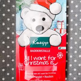 All I Want for Christmas is ... - Badekristalle - Süße Mandel • Rooibos von Kneipp